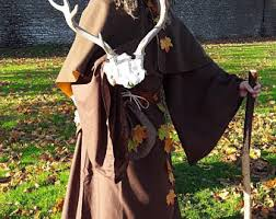 druidic robes druid costume etsy