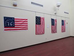 How To Display American Flag On Wall Morris County Library