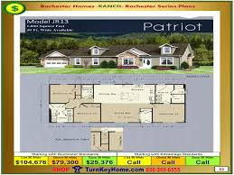 Mobile Home Floor Plans Florida by 48 Double Wide Floor Plans For Ranch Homes Wide Home Floor Plan