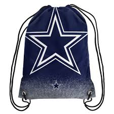 dallas cowboys nfl gradient drawstring backpack drawstring