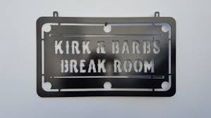 metal cut pool table sign pool room sign billiards sign sign