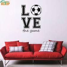 jeux de amoure dans la chambre amour football le jeu vinyle creative papier peint sport