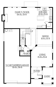 Houseplans Com Discount Code Craftsman Style House Plan 4 Beds 2 5 Baths 2965 Sq Ft Plan 132