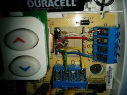 thermostat where can i connect the c wire on ac side enter image