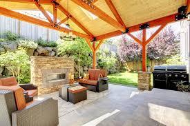 Big Backyard Design Ideas Backyard Barbecue Areas