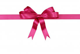 pink ribbon for gift photo free