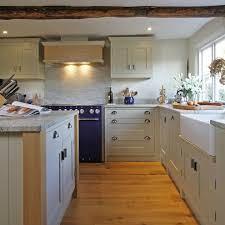 Bespoke Kitchen Designs Ivory Fantasy Granite Kitchen Farmhouse With Bespoke Kitchen
