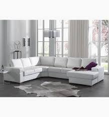 canapé blanc cuir canape dangle avec meridienne droite en simili cuir blanc beau
