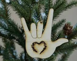 asl ornaments etsy