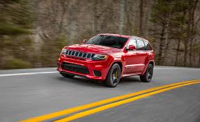 jeep hellcat truck 2018 jeep grand cherokee trackhawk official photos and info news