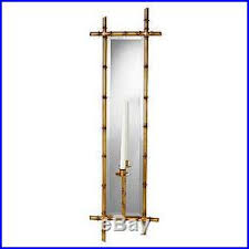 Bamboo Sconce Shanghai Garden Bamboo Wall Sconce Candle Holder Antique Gold