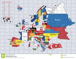 Europe Asia Map Asia Map Puzzle Thumbalize Me