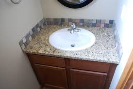 bathroom sink backsplash ideas easy bathroom backsplash ideas all home ideas and decor
