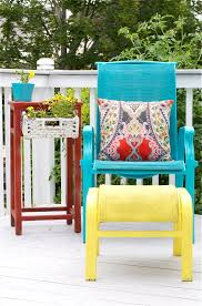 outdoor reading chair diy upcycled deck furniture accessories