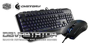 cm storm keyboard lights coolermaster cm storm devastator ii gaming keyboard and mouse bundle