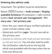 my audi connect login vehicle services audiworld forums