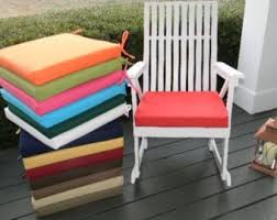 Patio Chair Seat Pads Patio Seat Cushion Etsy