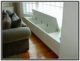 Window Seat Storage Bench with Diy Built In Bookcase Around Window Home Design Ideas