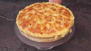 gâteau à la rhubarbe de la tante suzanne en vidéo