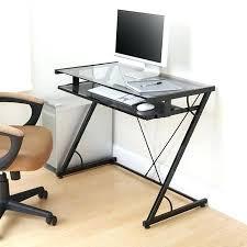 Glass Computer Desk Desk Sphere Computer Desks In High Gloss Black Corner Computer