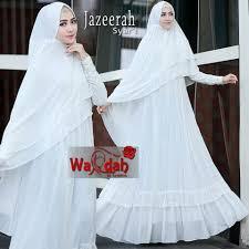 wedding dress syari jazeerah syari by wardah