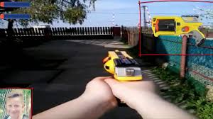 nerf car shooter nerf first person shooter youtube