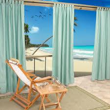 mist tabbed sunbrella outdoor curtains dfohome