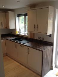 fitted kitchen bury