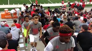 friday night lights ohio ohio state prospects moving to another workout at friday night