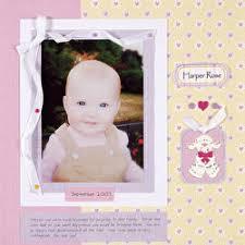 baby scrapbook album scrapbooking 101 scrapbook ideas supplies and more how to