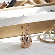 shabby chic rabbit ring holder images Umbra anigram ring holder home kitchen jpg
