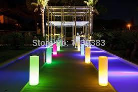 Outdoor Landscape Light Led Tower Pillar Medium Cylinder Floor L Outdoor Landscape
