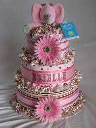 the 25 best pink diaper cakes ideas on pinterest baby shower