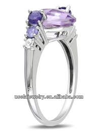 wedding rings malaysia 10k white gold amethyst ring malaysia hot custom made wedding
