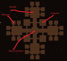 Bedroom Design Dwarf Fortress Fortress Design