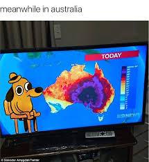 Aussie Memes - australians share memes about blistering heatwave daily mail online