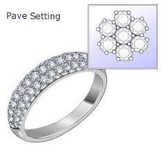 pave set rings images Pave setting pinterest engagement rings jpg