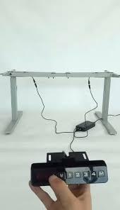 Desk Risers Uk Desk Uplift Height Adjustable Standing Desk Frame 2 Leg Rocelco