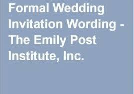 wedding announcement ideas emily post wedding invitation wording in addition to best 20