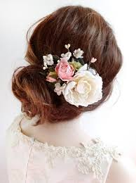 flower hair clip bridal hair clip floral hair clip bridal hair floral hair