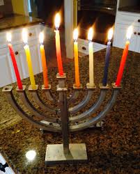 menorah 7 candles stuff renée a schuls jacobson