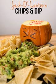 jack o u0027 lantern chips u0026 dip halloween decorations pinterest