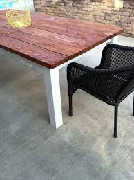 Diy Kitchen Table Top by Best 25 Outdoor Farm Table Ideas On Pinterest Outdoor Table