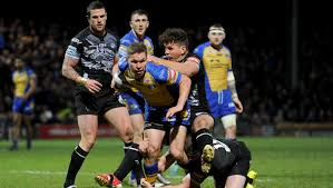 Leeds Rhinos Parcell Settling In To His Stride