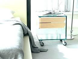 bed table on wheels lack bedside table vacationhawaii info