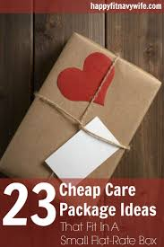 23 cheap care package ideas that fit in a small flat rate box flat