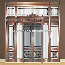 new design tempered glass front residential elevation designs