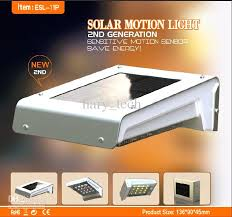 outdoor led lights solar with discount 16 leds pir sensor powered