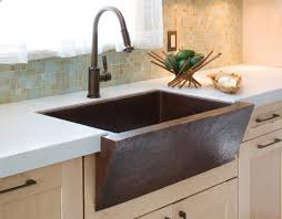 Kitchen Sinks With Backsplash Interior Design Mosaic Tile Backsplash With Dark Graff Faucets
