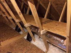 attic storage shelf plans design new digs pinterest attic